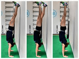 Wall to free Handstand