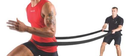 correr con bandas elasticas