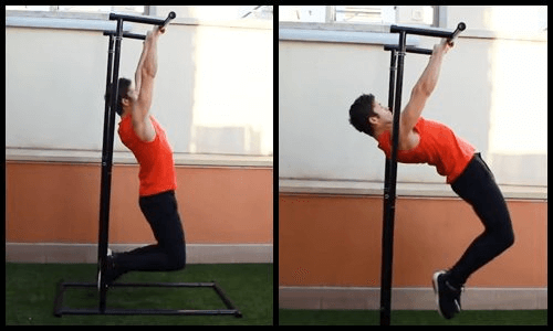 progresiones front lever